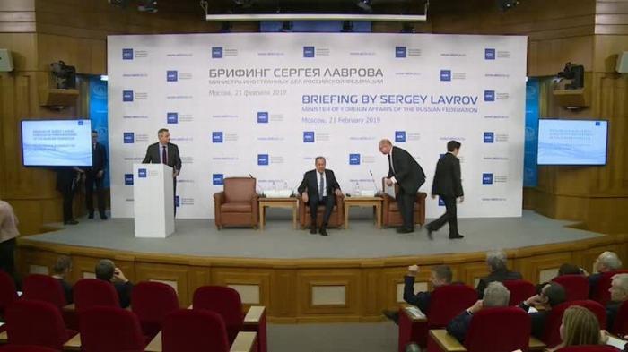 Брифинг Сергея Лаврова на тему «Отношения между Россией и ЕС», 21 февраля 2019 года
