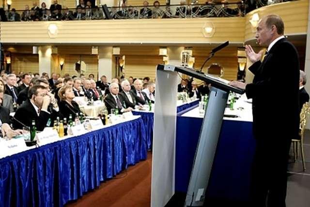 Выступление Владимира Путина в Мюнхене