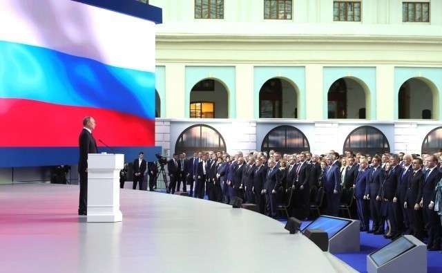 Послание Владимира Путина Федеральному Собранию