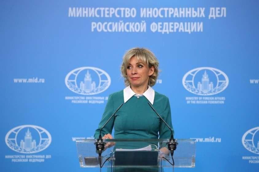 Мария Захарова провела еженедельный брифинг МИД России 22.02.2019