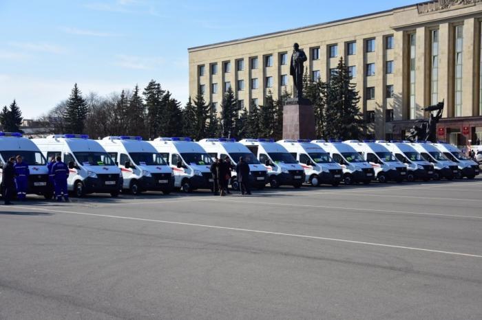 Ставропольский край получил 49 новых машин скорой помощи