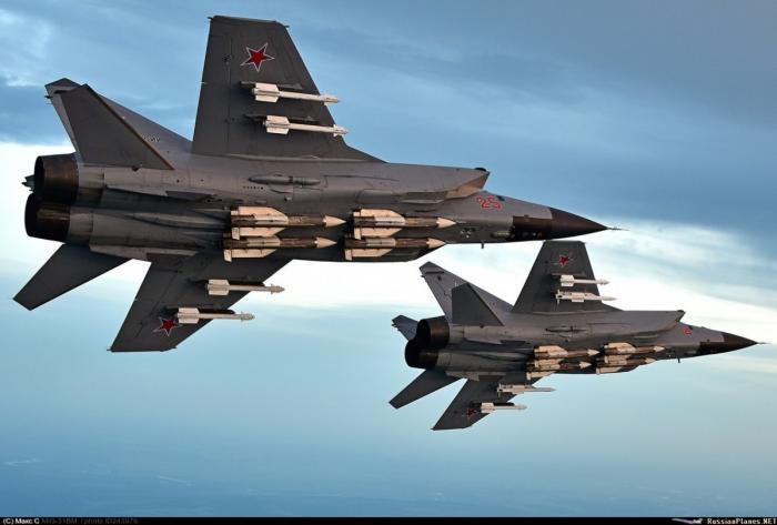 МиГ-31БМ пополнил состав авиации Северного флота