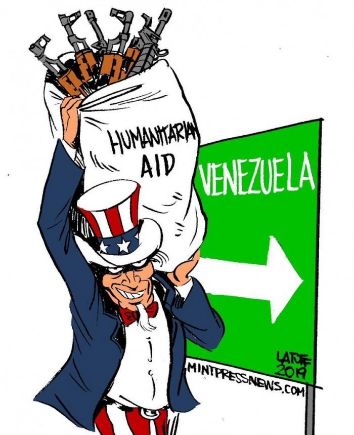 «Гуманитарное вторжение» в Венесуэлу уже сегодня