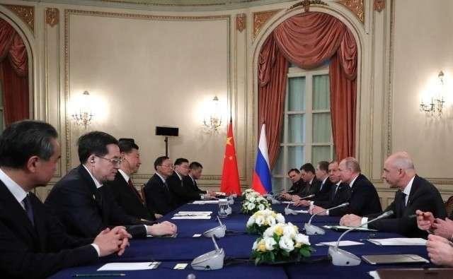 Встреча Си Цзиньпина и Владимира Путина