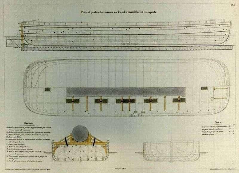 Баржа для доставки Александровской колонны – очередное враньё псевдоисториков