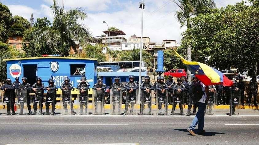 Власти Колумбии сообщают о 285 раненых в Венесуэле