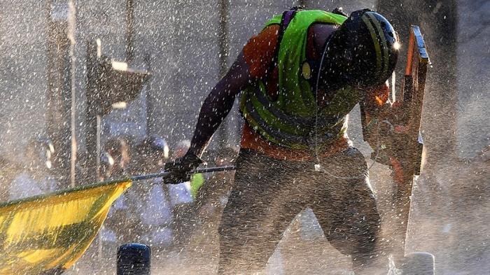 Франция. Прошла 15-я акция «жёлтых жилетов» – Макрон оглох