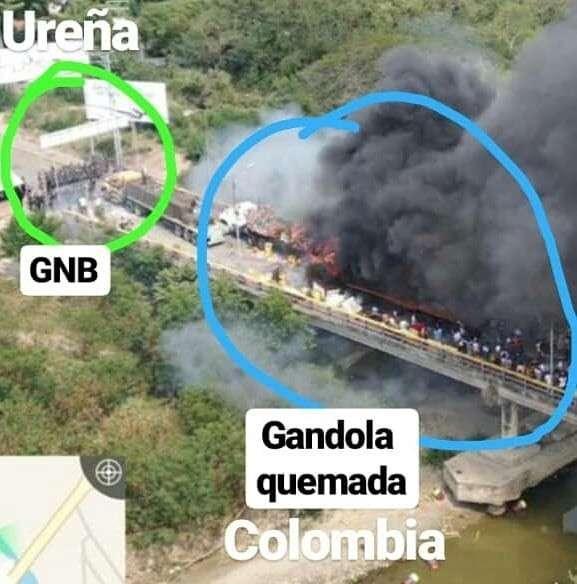 Переворот в Венесуэле – Махмуд, поджигай гумконвой!