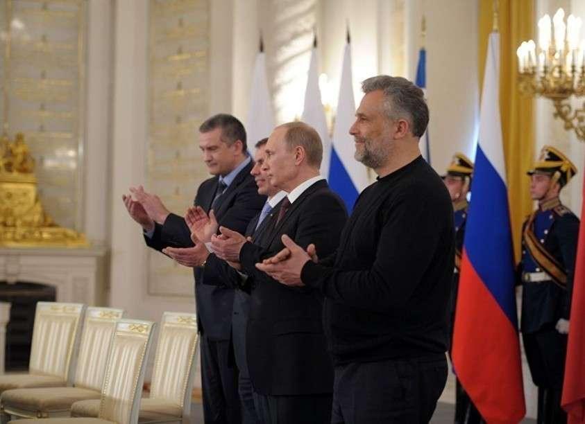 Подписание Договора между РФ и Республикой Крым о принятии в РФ Республики Крым и образовании в составе РФ новых субъектов