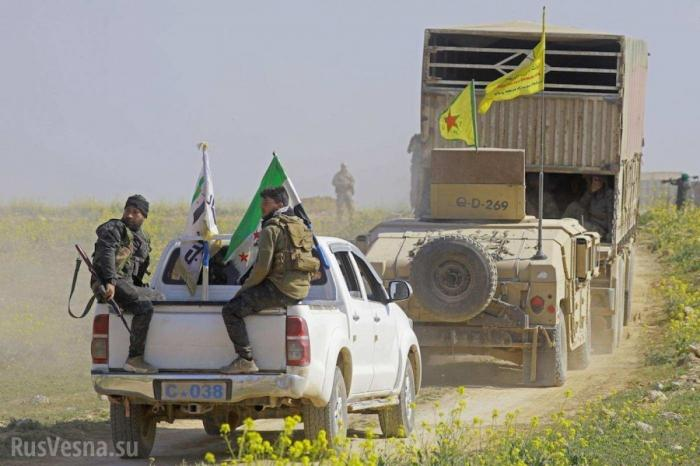 Сирия: зона оккупации США трещит по швам – народ восстаёт, наёмники бегут
