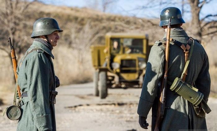Оккупированный Краматорск превращается в филиал фашистской Германии