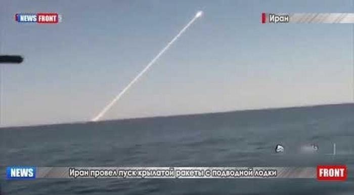 ВМС Ирана провели подводный запуск крылатой противокорабельной ракеты