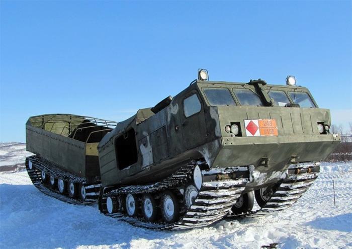 Партия вездеходов ДТ-10ПМ «Витязь» принята навооружение