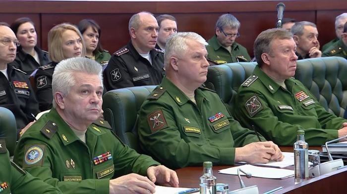 Сергей Шойгу провёл заседание Коллегии Минобороны России под председательством. 27.02.2019