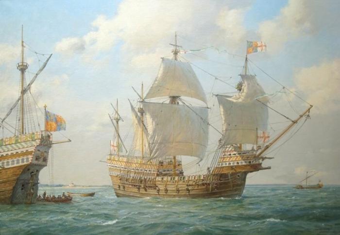 Как на самом деле проходили морские бои парусного флота?