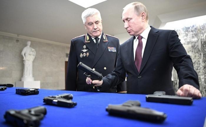 Владимир Путин принял участие в заседание коллегии Министерства внутренних дел