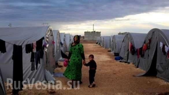 Сирия. Боевики США устроили «ад» в лагере Аль-Рукбан | Русская весна