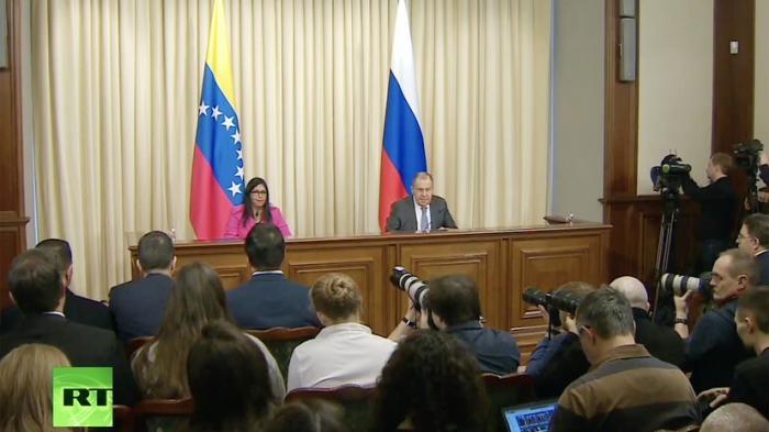 Лавров о Венесуэле: ведётся циничная кампания по свержению законного правительства