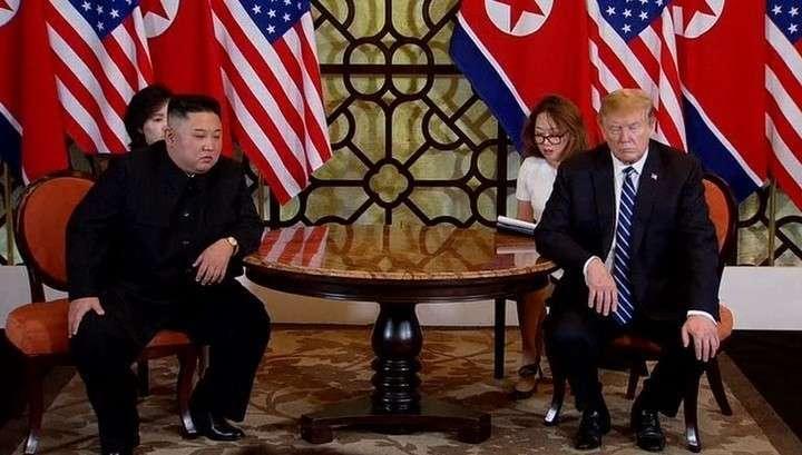 Как Трампа встретили после провалившихся переговоров с Ким Чен Ыном