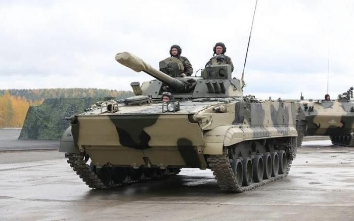 Волгоград. Более 20 БМП-3М поступили мотострелкам