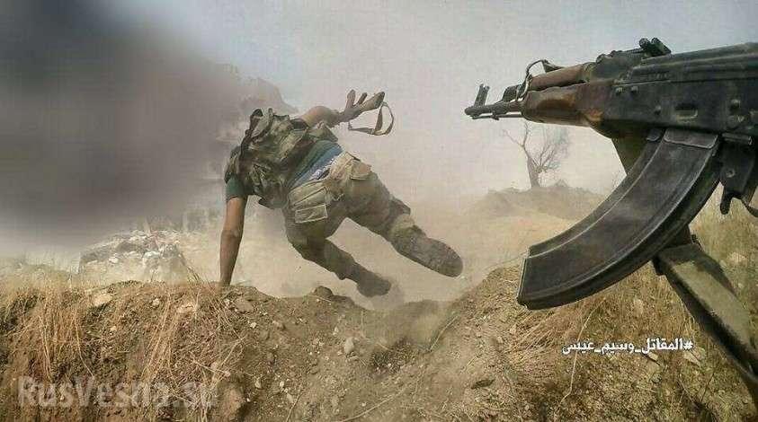 Сирия: кадры штурма – подготовленные русской ЧВК «суперсолдаты» в действии