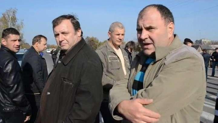 На Украине шахтёры перекрыли трассу с требованием выплатить 23 млн гривен зарплаты