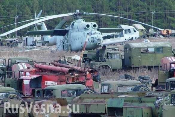Бронетехника из Чернобыля использовалась ВСУ в воне против ДНР и ЛНР | Русская весна