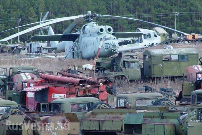 Бронетехника из Чернобыля использовалась ВСУ в воне против ДНР и ЛНР