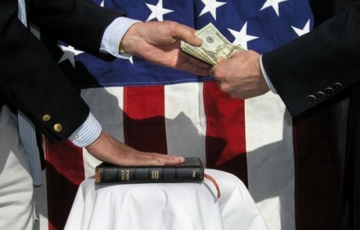 Такая коррупция, как в США даже и не снилась всем другим странам