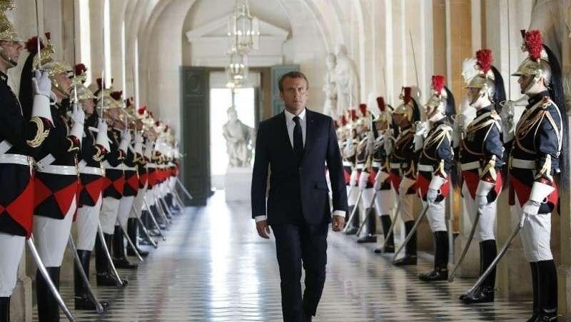 Макрон предложил строить Мировое Правительство в Европе