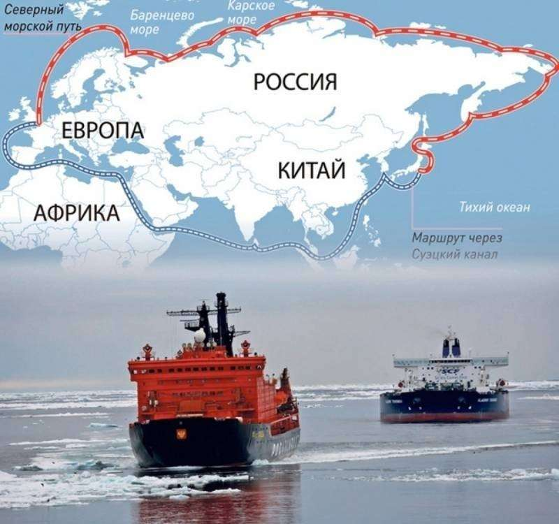 Россия закрыла Северный морской путь для вражеских кораблей