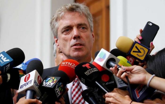 Венесуэла высылает посла Германии Даниэля Кринера за вмешательство во внутренние дела страны