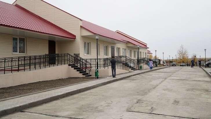 новый корпус инфекционного отделения Среднеканской районной больницы, открытый в сентябре 2018 года