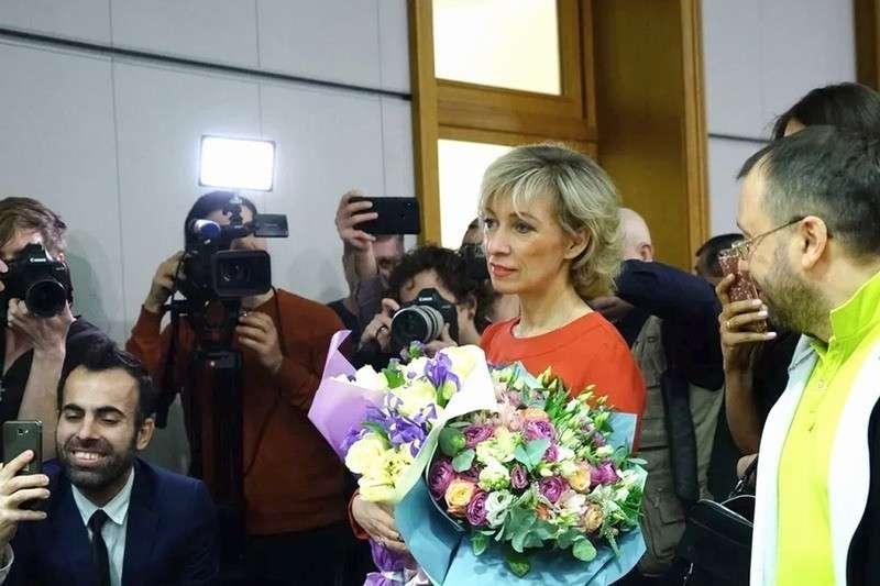Мария Захарова провела еженедельный брифинг МИД России 07.03.2019
