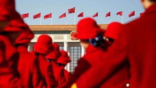Открытие сессии Всекитайского собрания народных представителей в Пекине