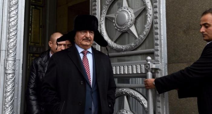 США обвинили Россию в «тайной поддержке» маршала Хафтара в Ливии