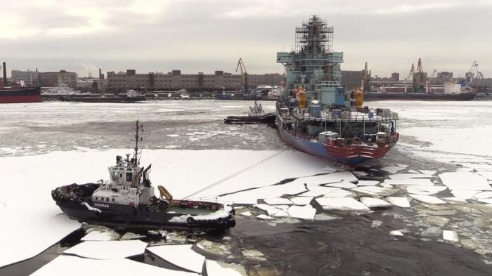 В Петербурге самый мощный в мире атомный ледокол «Арктика» готовят к загрузке ядерного топлива