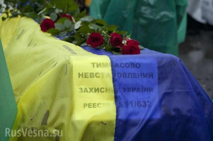 Во Львове похороны офицера ВСУ Богдана Слободы обернулись скандалом
