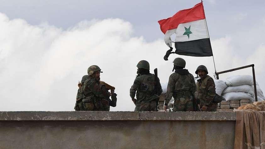 Сирийская армия ударила по позициям