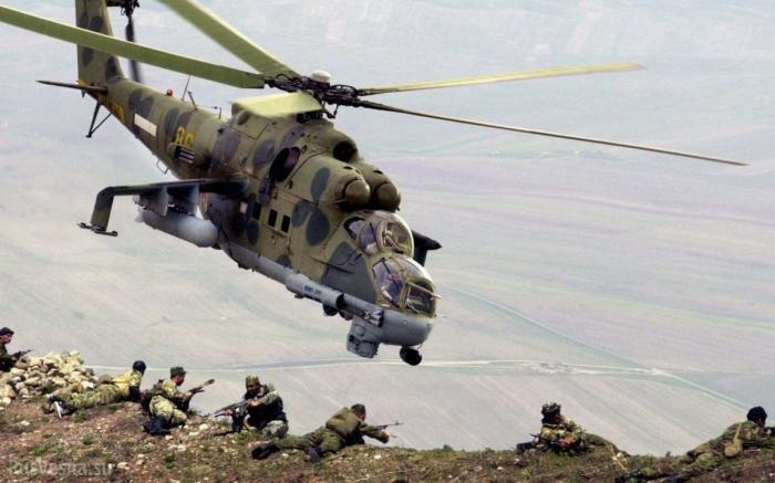Ми-24 «Крокодил», наводит ужас на боевиков от Афгана до Сирии