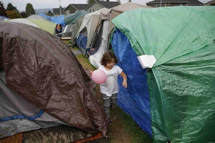 Нью-Йорк. Количество бездомных школьников достигло максимальной отметки за десятилетие