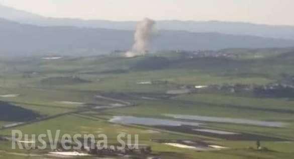 ВКС России начали бомбить боевиков в Идлибе | Русская весна