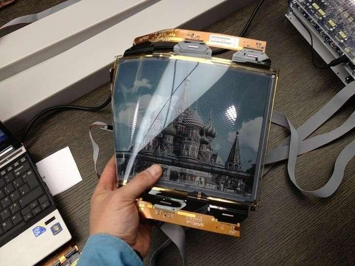 Гибкий цветной дисплей – изобретение новосибирских ученых