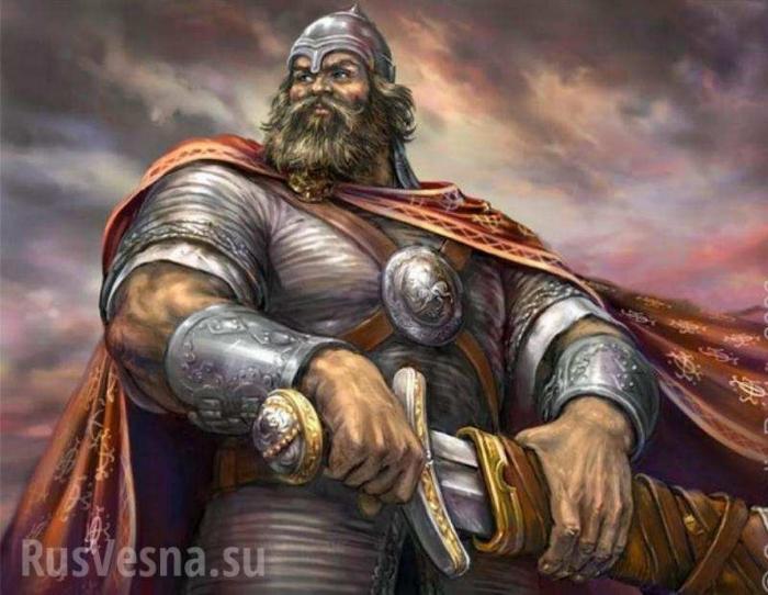 Сословие русских воинов. Кодекс чести русских богатырей