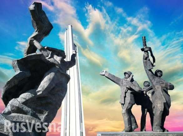 У президента Латвии Вейониса шизофрения из-за России | Русская весна