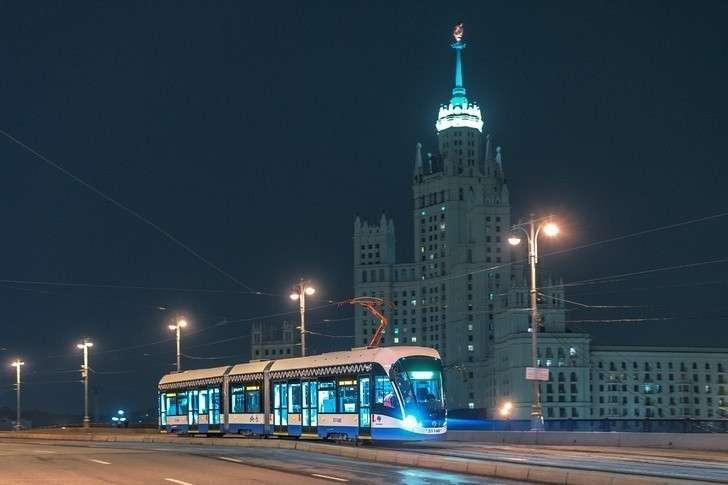 В 2018 году в Москву поставлено 120 новых трамваев модели 71-931М «Витязь-М»