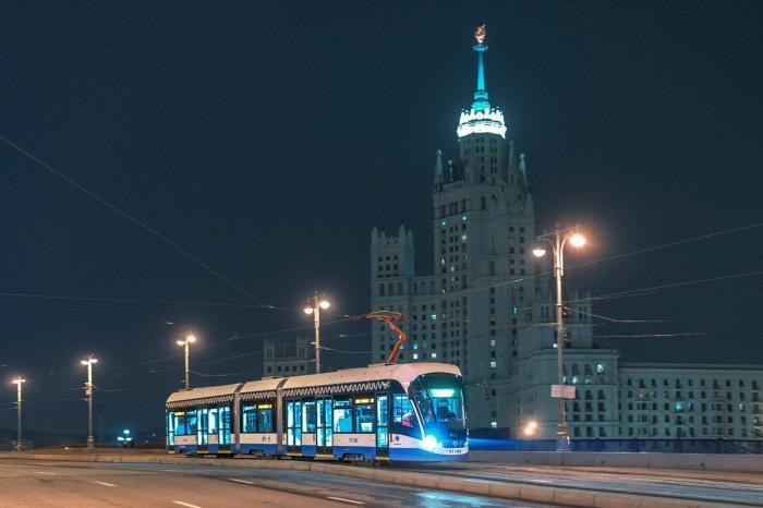 120 новых трамваев Витязь-М поставлено в 2018 году