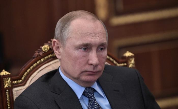 Встреча Владимира Путина с главой компании «Газпром» Алексеем Миллером