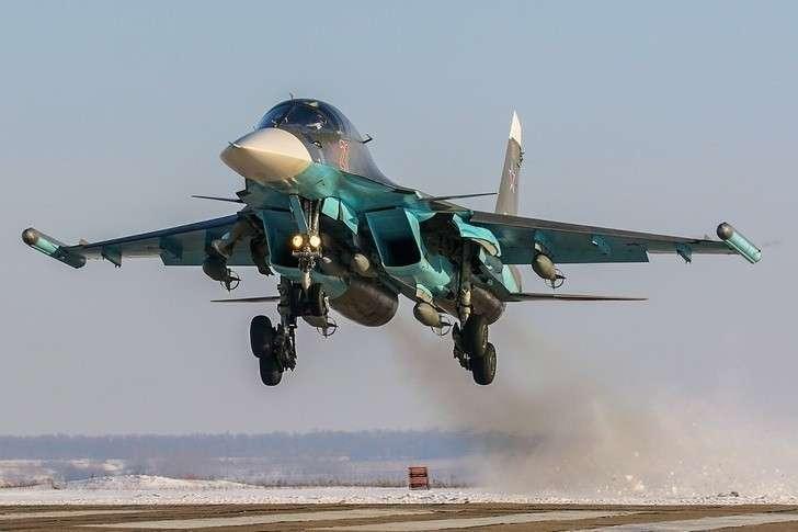 Семь Су-34 поступили в ЦВО
