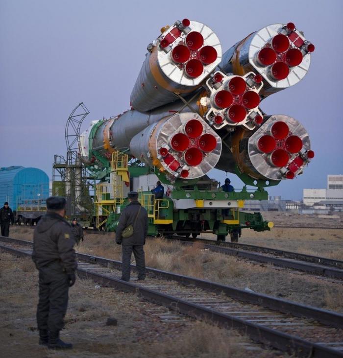 """Астронавты НАСА назвали ракету «Союз-ФГ» """"инженерным чудом"""""""